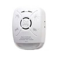 Мультифункциональный 2 в 1 электромагнитный и ультразвуковой отпугиватель тараканов и насекомых для помещений