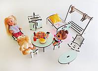 Мебель для Лол.Кухня, Спальня для кукол Лол