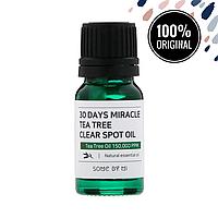Масло чайного дерева для лица SOME BY MI 30 Days Miracle Tea Tree Clear Spot Oil, 10 мл