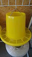 Кормушка желтая объем 9 л, фото 1