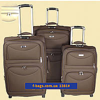 Комплект чемоданов Union коричневый