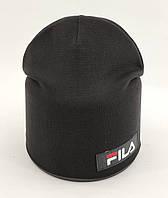 Дитяча шапка з 48 до 54 розмір трикотажна подвійна дитячі шапки демісезонні, фото 1