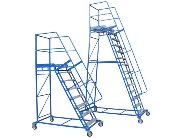 Лестницы мобильные