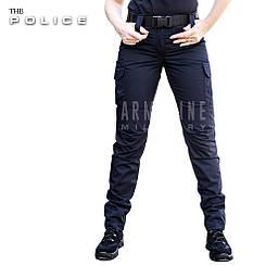 """Женские полицейские брюки """"POLICE"""" BLUE"""