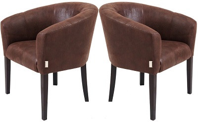 Кресло Версаль коричневое - картинка