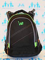 Ранец рюкзак школьный ортопедический однотонный EDISON Sport  19-15-1
