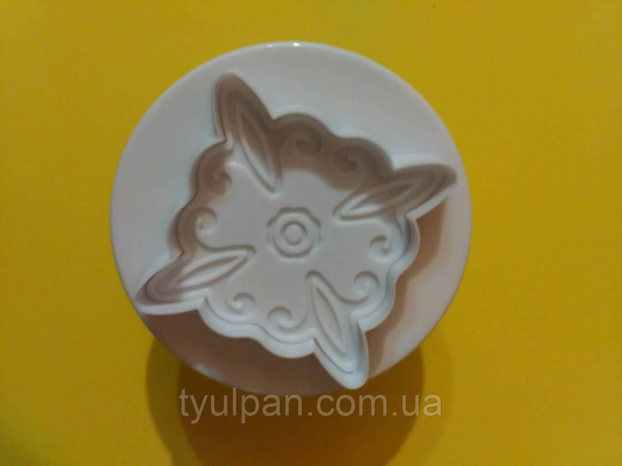 Плунжер ромбики для мастики 1 шт 4 см