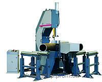 Станки ленточнопильные полуавтоматические гидравлические вертикальные BOMAR серии VBS