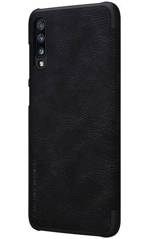 Чохол-книжка Nillkin Qin ser. для Samsung Galaxy A70/ A705F Чорний (176614), фото 2