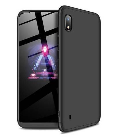 Чохол-360° LikGus для Samsung Galaxy A10/ A105F Чорний (969409), фото 2