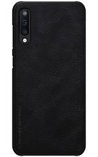 Чохол-книжка Nillkin Qin ser. для Samsung Galaxy A50/ A505F Чорний (175662), фото 2
