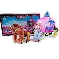 Карета с лошадью и куклой 59386