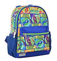 Рюкзак детский 1 Вересня K-16 Turtles (22.5х18.5х9.5) Синий (554766qw)