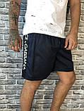 Модные Мужские Шорты Бриджи Dolce & Gabbana синие Люкс Качество Стильные Молодежные Дольче Габбана реплика, фото 3