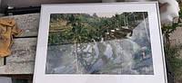 """Картина в рамке """"Тропики"""" 45х65 № 9-907"""