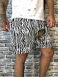 Трендовые Мужские Шорты Бриджи Dolce & Gabbana белые Топ Качество Хайповые Молодежные Дольче Габбана реплика, фото 3