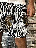 Трендовые Мужские Шорты Бриджи Dolce & Gabbana белые Топ Качество Хайповые Молодежные Дольче Габбана реплика, фото 2