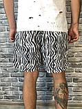 Трендовые Мужские Шорты Бриджи Dolce & Gabbana белые Топ Качество Хайповые Молодежные Дольче Габбана реплика, фото 4
