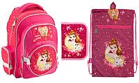 Школьный набор Kite (рюкзак, сумка и пенал) с принцессами