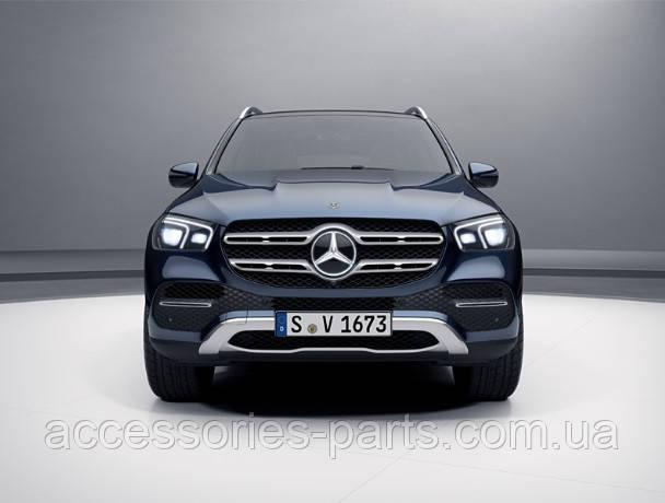 Эмблема решетки радиатора с подсветкой Mercedes GLE-class V167 Новая Оригинальная