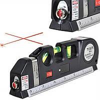 Лазерный уровень нивелир Fixit Laser Level Pro PR0 : лазерный уровень, жидкостный уровень, рулетка