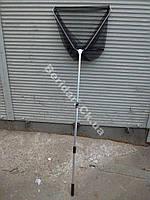 Подсак складной телескопический бюджетный (капрон нить)   50*44*190 см