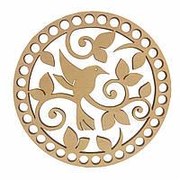 Круглое донышко для вязанных корзин Shasheltoys (100119.12) 12 см