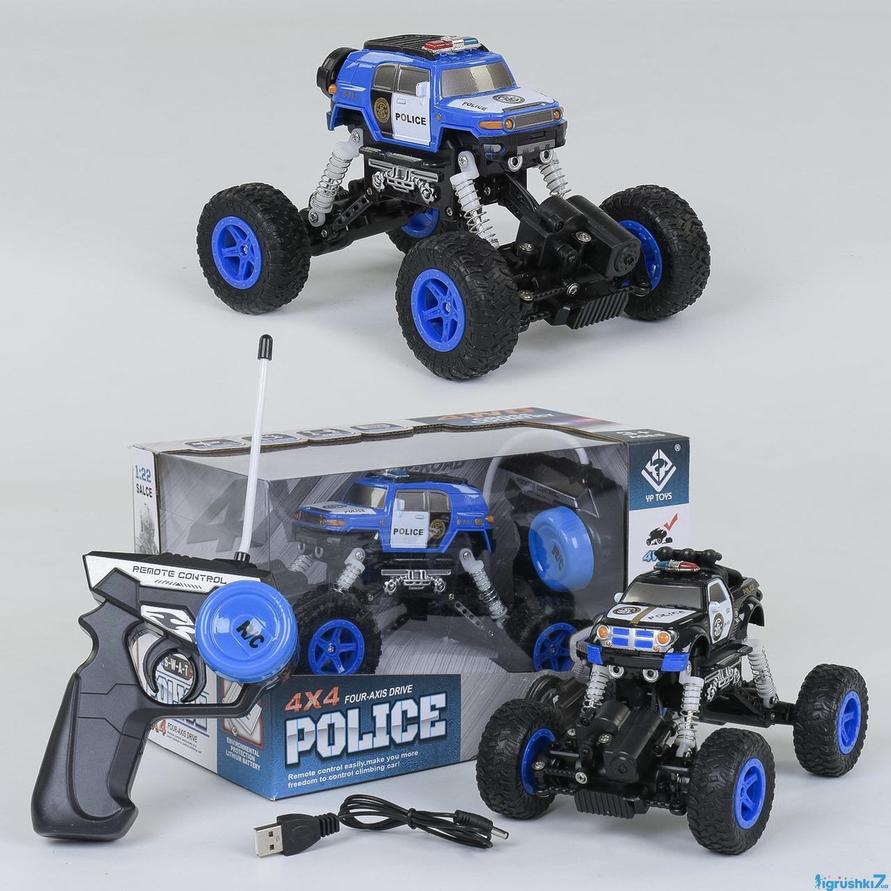 Джип Монстр Трак Полиция