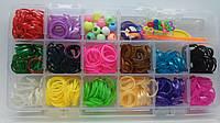 Резинки для плетения браслетов набор