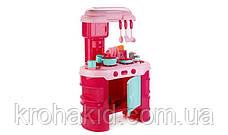 Дитяча ігрова Кухня 008-908A червона (світло, звук - кавоварка, тостер, посуд, продукти) - 69-45,5-26 см, фото 2