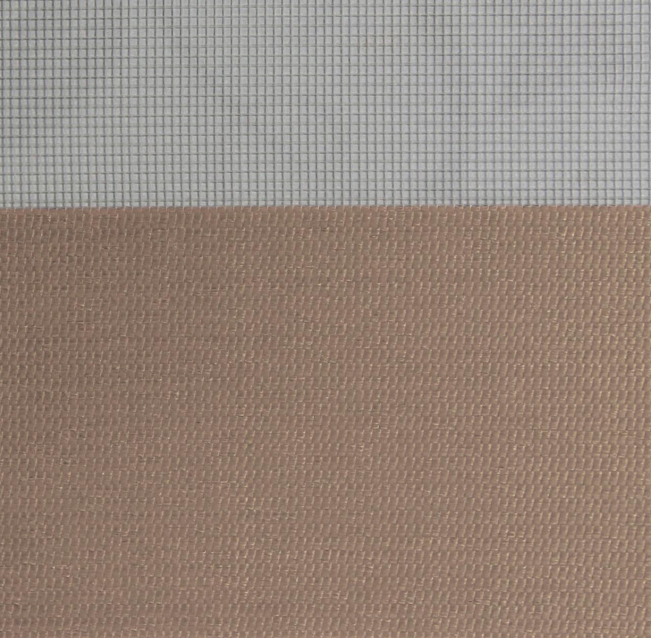 Готові рулонні штори Тканина Z-070 Блідо-коричневий