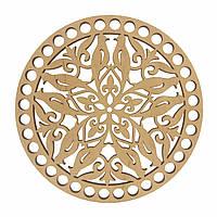 Круглое донышко для вязанных корзин Shasheltoys (100121.15) 15 см