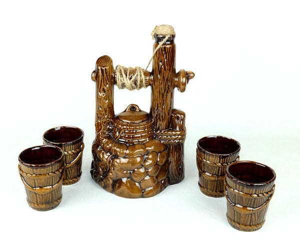 Колодец - подарочный набор для спиртного