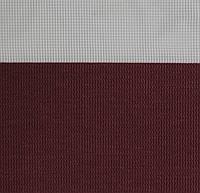 Готові рулонні штори Тканина Z-081 Темно-червоний