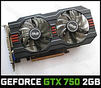 ASUS GeForce GTX 750 2GB GDDR5 HDMI PCI-E (GTX750) Видеокарта