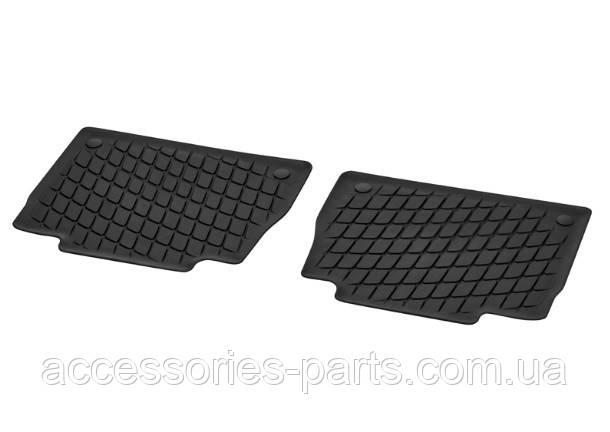 Коврики в салон резиновые черные Mercedes GLE-class V167 Новые Оригинальные