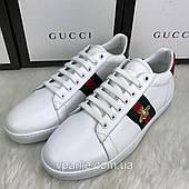 Кеды белые  Gucci
