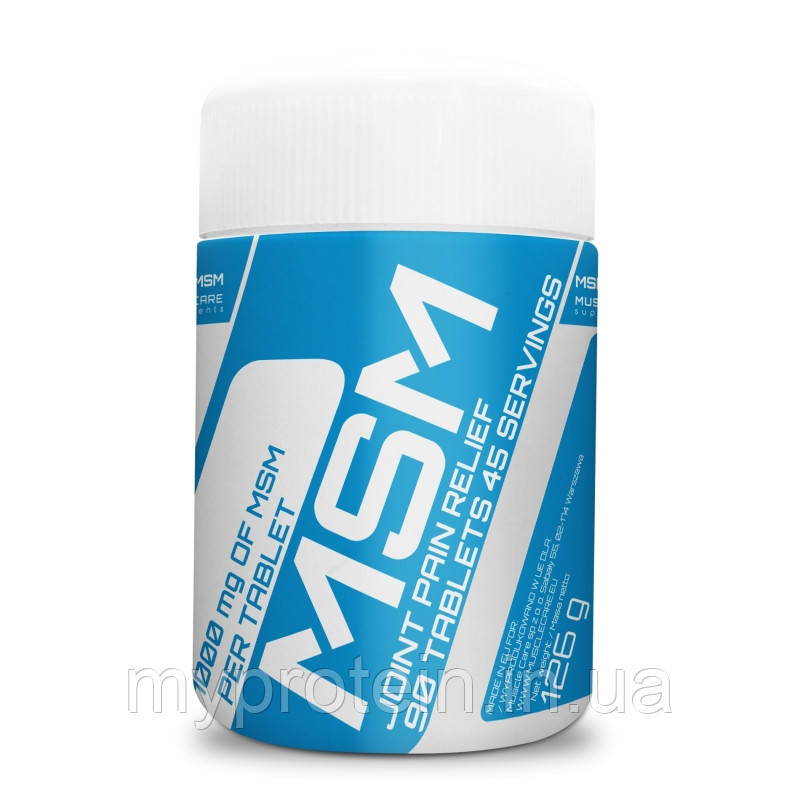 Muscle CareДля суставов и связокMSM90 tab