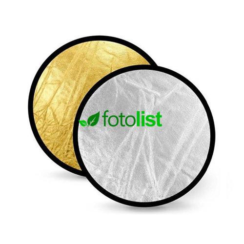 Отражатель Visico RD-020 2 в 1 gold/silver (80см)