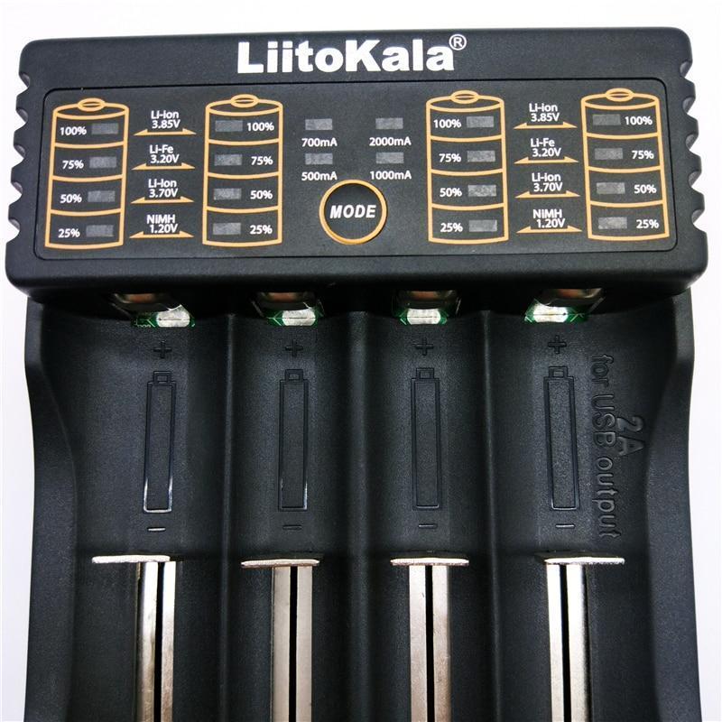 Зарядний пристрій Liitokala Lii-402