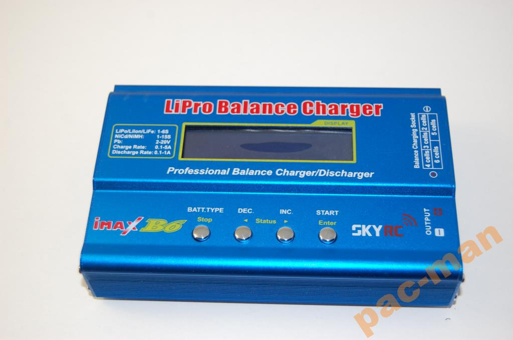 IMax B6  оригнал  SkyRC Li-ion Lipo LiFe NiMH Pb