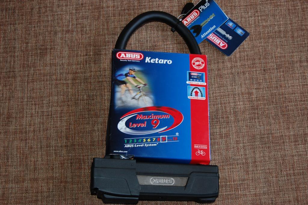 Велозамок  ABUS Ketaro 505 U-Lock