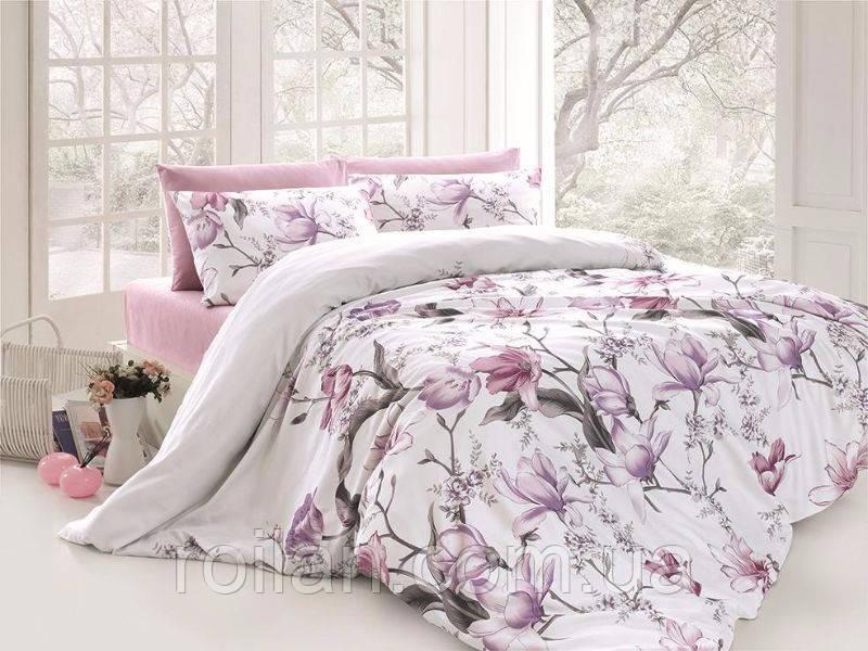 Турецкое постельное белье с цветами