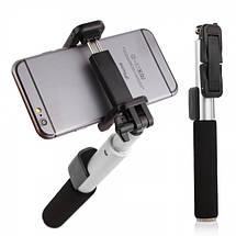 Селфи палка беспроводной монопод Remax Selfie Stick RP-P4 для смартфонов (Черная), фото 3