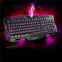 Профессиональная игровая радио клавиатура с подсветкой М200, led клавиатура, фото 1