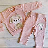 Костюм  для девочки штаны и свитшот 104, фото 1