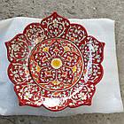 Ляган Риштан 32см, Ажурная тарелка., фото 7