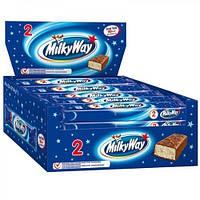 Батончик Milky Way 1+1 / Милки Вей ( 24*43 г )