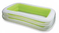 Надувной прямоугольный бассейн INTEX 56483,Comfort-Rest, семейный, ванна