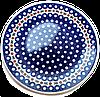 Керамическое блюдо Ø28 Вишенки
